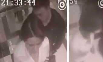 Den perverse mannen tar på kvinnan i hissen – Sedan ger hon tillbaka på bästa möjliga sätt!