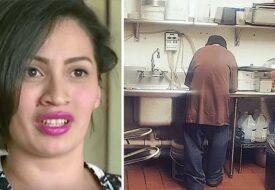 Kaféägaren gav en hemlös man ett jobb – 2 veckor senare är hon helt chockad!
