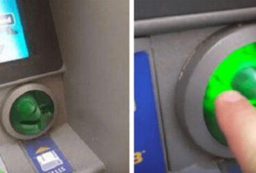 Killen skulle ta ut pengar i uttagsautomaten. Det han upptäckte då är SKRÄMMANDE!