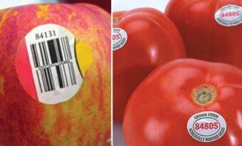 Om du ser en vara med en etikett som börjar med 8, köp inte den: Det här är vad siffran innebär