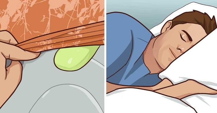 Lägg en tvål under dina lakan för en förbryllande men utomordentlig effekt! WOW!