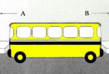 I vilken riktning kör bussen? Bara dom smartaste klarar detta.
