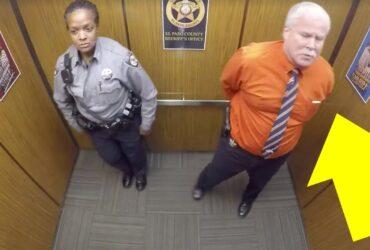 Polischefen trodde att ingen såg – men kameran fångade allt!