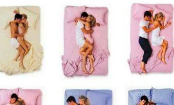 Sättet du sover med din partner avslöjar mycket om er relation!