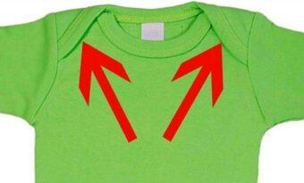 Vet du varför babykläder INTE sys ihop vid axlarna? Här har du svaret!