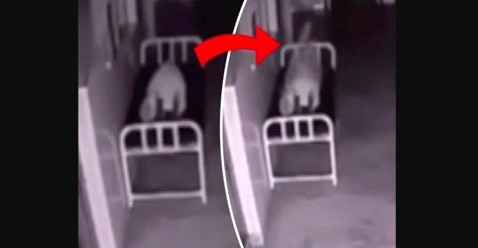 Tjejen dör på sjukhuset – men det övervakningskameran då filmar ger mig rysningar!