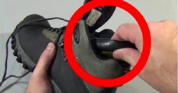 Fryser du om fötterna? Detta enkla knep kommer hålla dig varm hela vintern!