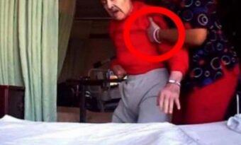 Familjen litade inte på pappans sjuksköterska, så de satte upp en kamera. Bilderna chockar nu en hel värld!