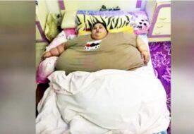 Världens tyngsta kvinna kan inte lämna sängen. Men se vad som händer när läkare vidtar åtgärder!