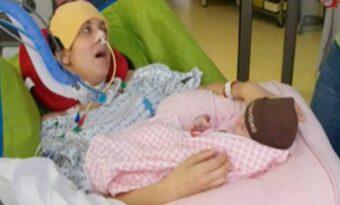 26-åringen blev förlamad efter födseln. När en sjuksköterska böjde sig ner, viskade hon något hjärtskärande!