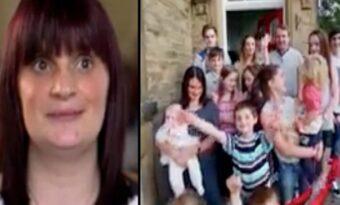 14-åringen blir gravid och får barn. 28 år senare får hon barn nummer 20 med samma man!